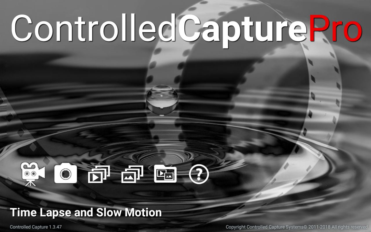 Controlled Capture Main Screen